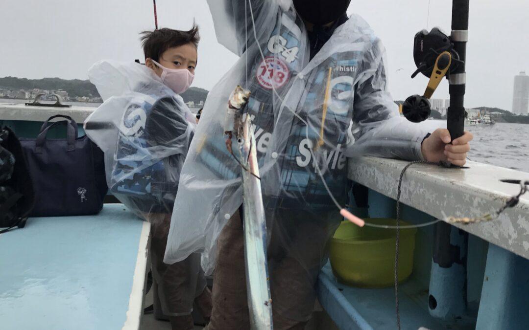 26日タチウオ釣り