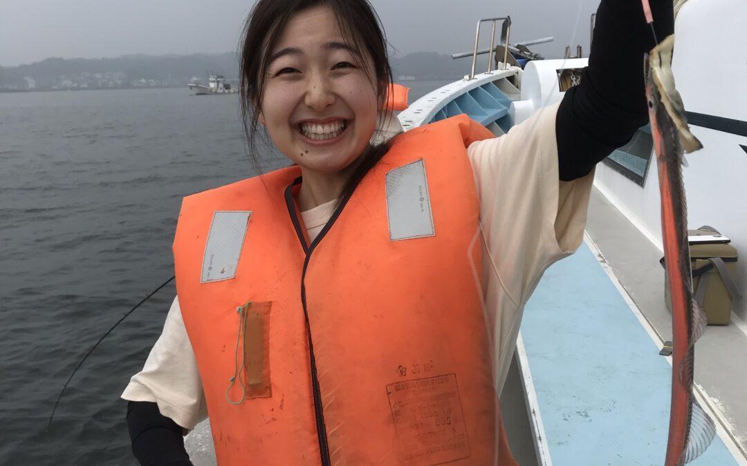 15日午前体験タチウオ釣り