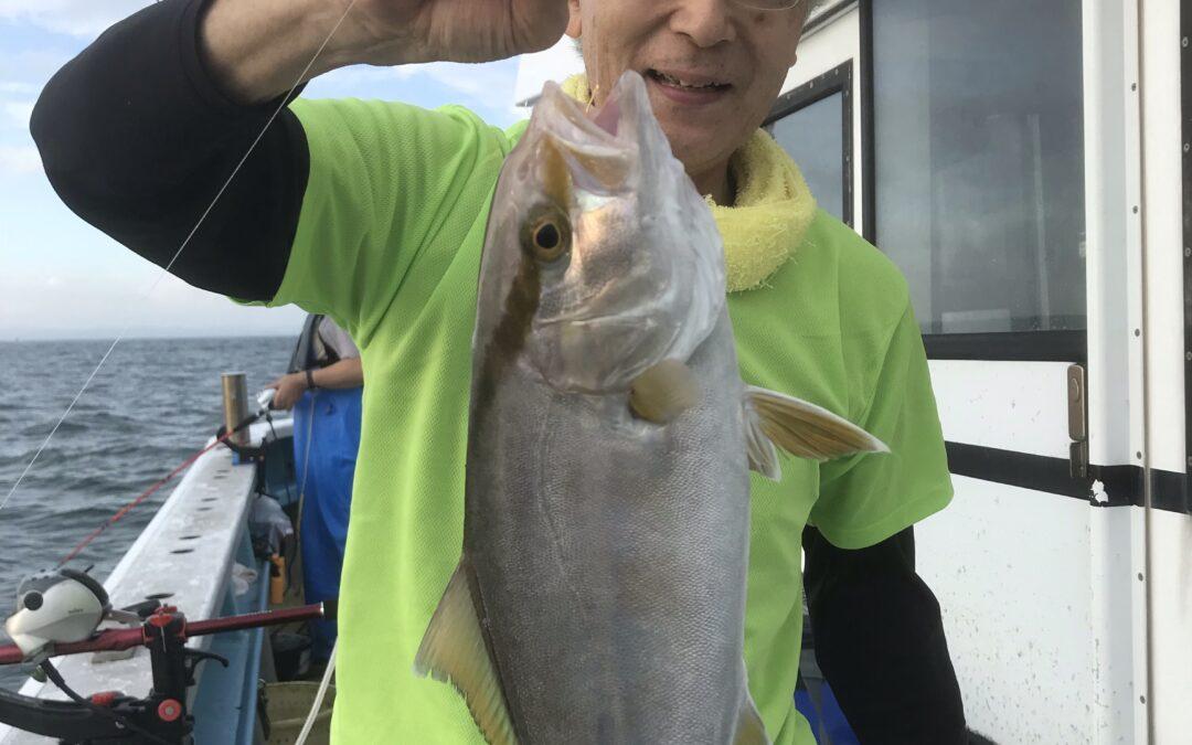 8日ウタセ五目&タチウオ釣り