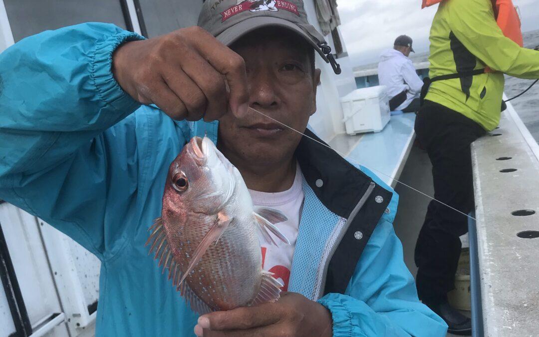 13日ウタセ五目&タチウオ釣り